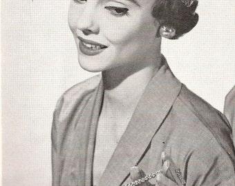Vintage Crocheted Hat and Bag pattern - DENVER