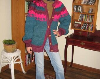 Bolivian Highland Wool Sweater Men's L / Women's XXL