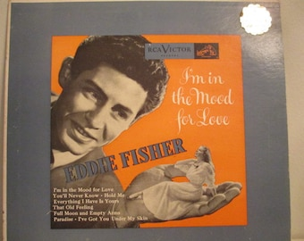 Eddie Fisher 10 inch Album
