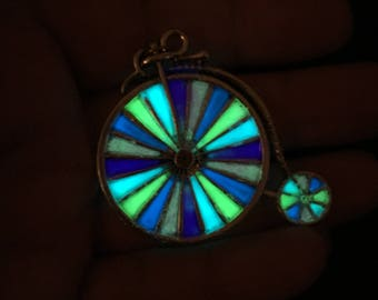 Glowing Penny-farthing!!