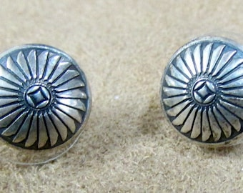 Southwest Design Sterling Silver Stud Earrings