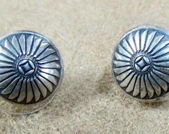 Southwest Design Sterling Silver Stud Earrings