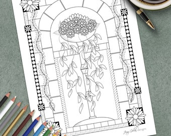 Printable Colouring Page Roman