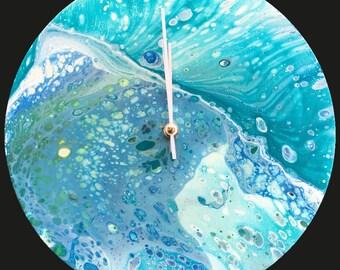 Acrylic 30 cm Wall Clock / Handmade /Unique Designs #20