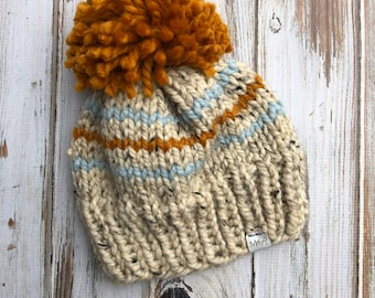 2.5-4 Years Tiny Stripes Beanie