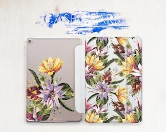 Flowers iPad 3 Case Floral iPad Pro 9.7 Case iPad 4 Cover iPad Mini 4 Cover iPad Pro 9.7 2017 Case iPad 3 iPad Mini 3 iPad 3 Case CG4114