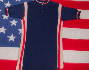 Vintage Bicycling Jersey