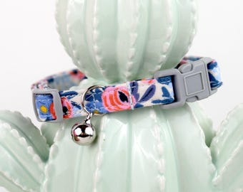 Cat Collar - Available in any print from our shop - Quick Release Hardware - Breakaway Hardware
