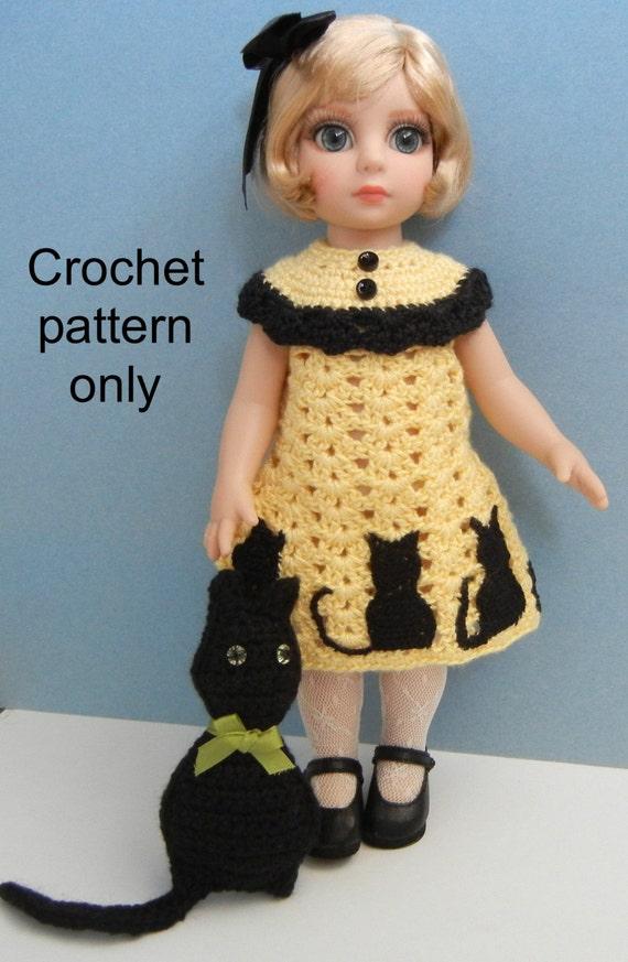 Crochet Pattern Pdf For 10 12 Inch Child Doll Ann Estelle