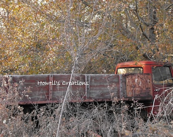 Abandoned Farm Truck Photograph