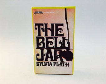 Vintage Classics Book The Bell Jar by Sylvia Plath 1988 Edition Permabound Hardcover