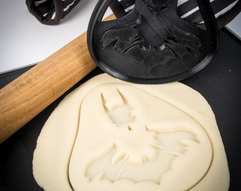 Batman cookie cutter, FOOD SAFE, 3D Printed