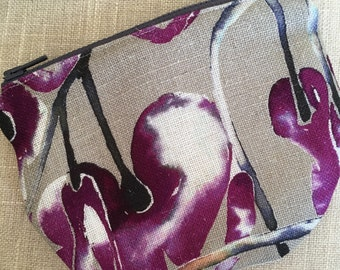 Notion pouch/ coin purse OOAK