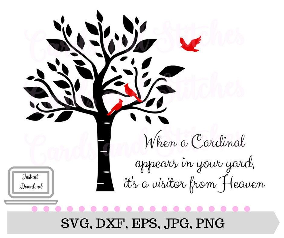 tree svg cardinal svg cardinal from heaven digital