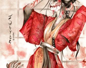 A3 Kuchisake-onna Poster