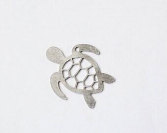 Turtle Shaped Bottle Opener Keychain