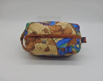 World map travel bag etsy world map travel bag world traveler bag ditty bag dopp kit toiletry bag makeup bag pencil case go bag english wet sack zip pouch gumiabroncs Gallery