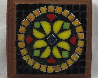 Nordic Folk Art Mosaic