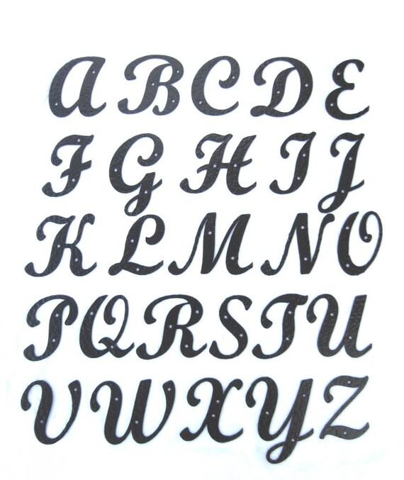 lettre alphabet hammered wrought iron standard script alphabet letters lettre alphabet