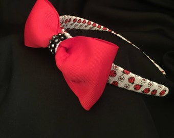 Lady Bug Headband