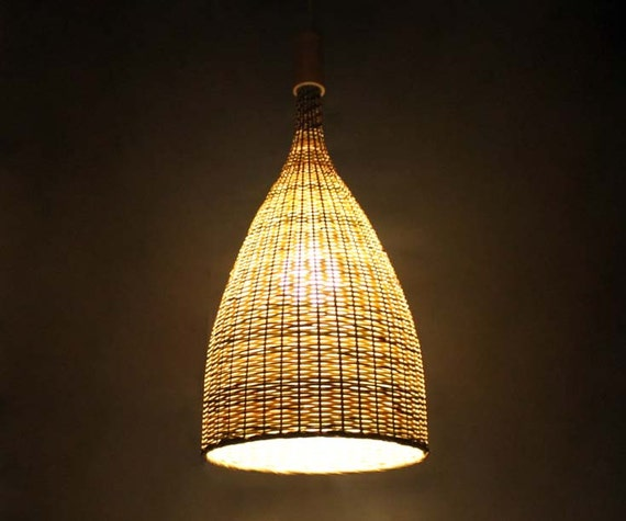 Well-known Flared Bamboo Pendant Lights-Bamboo Ceiling Lighting-Bamboo SA93
