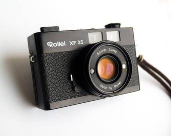 Rollei XF 35 - 40mm f/2.3 - Vintage Film Camera