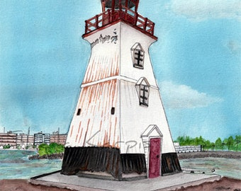 Mimico Lighthouse, 1984