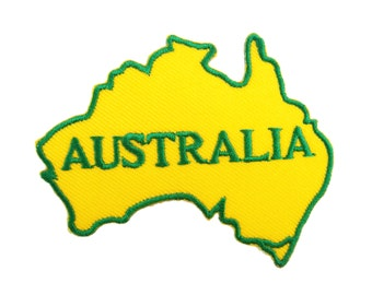 Australia Embroidered Applique Iron on Patch