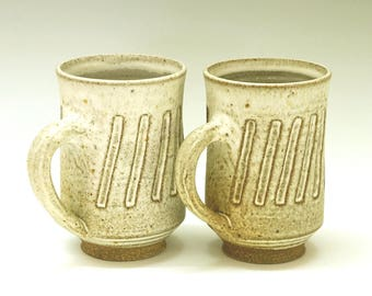 Ceramic mugs, coffee mug, mug set, tall ceramic mug, pottery mugs, handmade