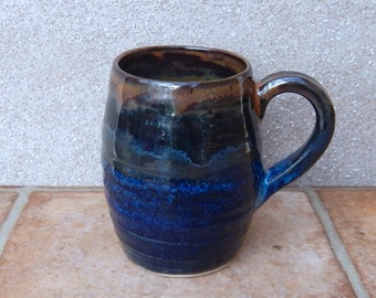 Coffee mug tea cup hand thrown stoneware pottery ceramic wheelthrown handmade