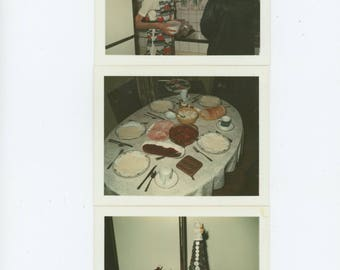 """Set of 3 Vintage Polaroid Snapshot Photos: """"Xmas Day 1979"""" (711623)"""