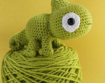 Kiwi the Chameleon, Crochet Pattern, Amigurumi Pattern, Amigurumi Chameleon Pattern