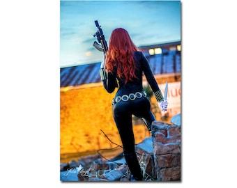 Black Widow #2 | 20x30cm