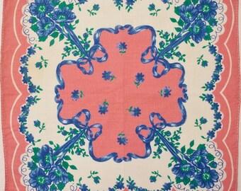 Bright Pink Handkerchief
