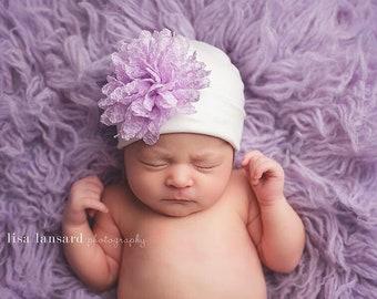 Hospital hat, Nursery Beanie, Infant Beanie, Newborn hat, baby girl Hat, Newborn Girl hat, Baby Hospital Hat, Hospital Cap, Coming Home hat
