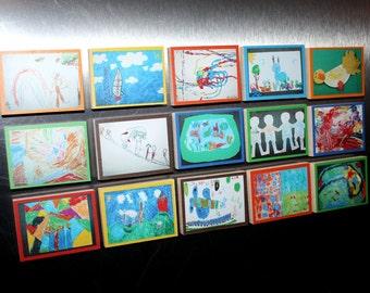 Set of 15 Kid's Memory Magnets MM0005