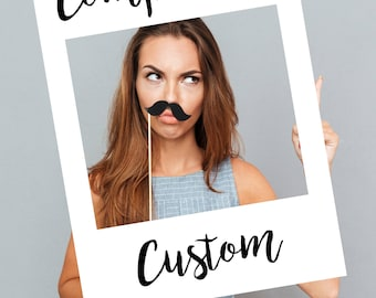 Completely Custom Selfie Frame 100% Personalised Photo Frame Prop