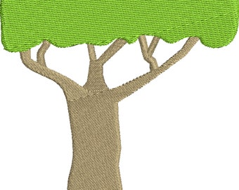 embroidery design tree Embroidery Design 2 sizes