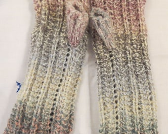 Wrist Warmers Fingerless Adult Sizes