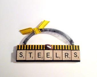 Steelers Football Ornaments