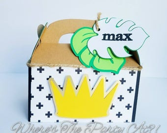 Where The Wild Things Are Inspired Favor Box