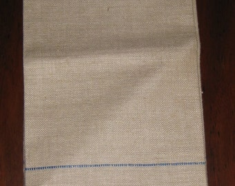 Never Used Vintage Linen Tea Towel