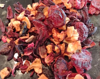 Iced Cranberry Sunset Loose Leaf Tea Kit