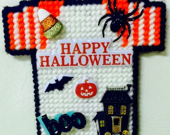 Halloween Jersey Magnet, Halloween Magnet, Scary Magnet, Halloween Party Favor