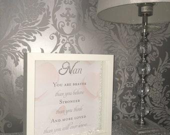 Nan you are braver
