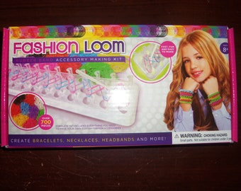 Fashion Loom Rubber Band Accessory Making Kit