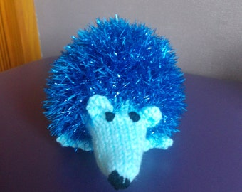 Hand knitted Hedgehog, stuffed toy, knitted toy, soft toy, knitted animals, woodland animals, children, all ages, birthday gift, gift