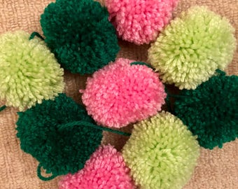 One in a Melon pom pom garland
