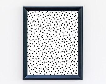 Dalmatian Print - Spotted Print - Dots Print