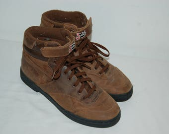 Women Size 9 Justin Vintage Brown Leather Hiking Work Boots